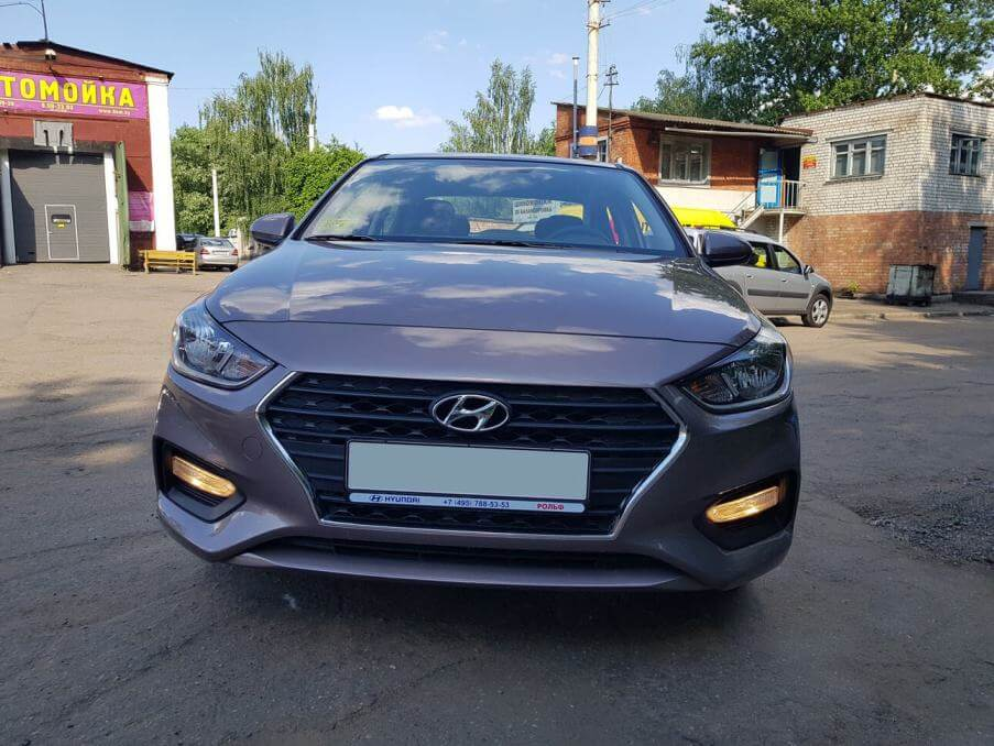 Hyundai Solaris AT 2018 на прокат - фото № 2